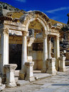 Hadrian s temple ephesus in turkey Royalty Free Stock Photos