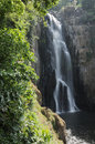Haew Narok waterfall with foreground, Thailand Stock Images