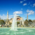Haghia sophia fountain 02 Stock Photo