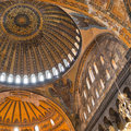 Hagia Sofia Interior 04 Stock Photography