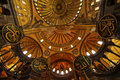 Hagia Sofia Interior Royalty Free Stock Image
