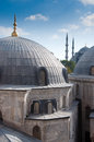 Hagia Sophia and Blue Mosque, Turkey Royalty Free Stock Image