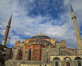 Hagia sophia ii travel turkey istanbul Royalty Free Stock Photos