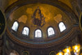 Hagia Sophia Interior Royalty Free Stock Photography