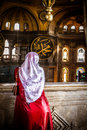 Hagia sophia istanbul the famous museum ex basilica Royalty Free Stock Photography