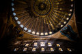 Hagia sophia istanbul the famous museum ex basilica Royalty Free Stock Photo