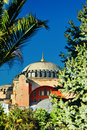Hagia sophia mosque in istanbul Stock Photography