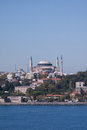 The hagia sophia museum on the banks of the bosphorus in istanbul turkey the hagia sophia was formerly both a church and a mosque Royalty Free Stock Images