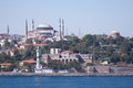 The hagia sophia museum on the banks of the bosphorus in istanbul turkey the hagia sophia was formerly both a church and a mosque Stock Images