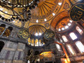Hagia sophia museum is a former orthodox patriarchal basilica later a mosque and now a museum in istanbul turkey from the date of Royalty Free Stock Photography