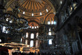 Hagia sophia museum is a former orthodox patriarchal basilica later a mosque and now a museum in istanbul turkey from the date of Stock Photo