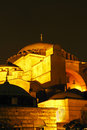 Hagia Sophia night closer Stock Images