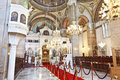 Hagia triada holy trinity church kadikoy in istanbul turkey Royalty Free Stock Image