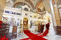 Hagia triada holy trinity church kadikoy in istanbul turkey Royalty Free Stock Photos