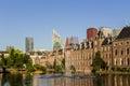 The Hague skyline Royalty Free Stock Photo