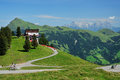 Hahnenkamm Biking Royalty Free Stock Photo