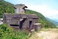 Hai van pass vietnam former french military colonial outpost at in central Stock Images