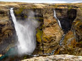 Haifoss and Granni Royalty Free Stock Images