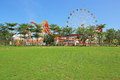 Haikou City, Baisha Gate Park playground Royalty Free Stock Photo