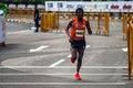 Haile Gebrselassie Standard Chartered Marathon Royalty Free Stock Photo