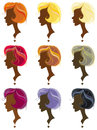 Hair Color Styles. Royalty Free Stock Photo