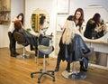 Hair salon situation Stock Photography