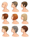 Hair Style Stock Photos