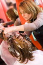 Hair-stylist Stock Images
