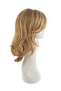 Hair wig over the mannequin head Royalty Free Stock Photo
