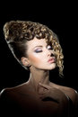 Hairdo Royalty Free Stock Photos