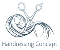Hairdresser concept Royalty Free Stock Photo