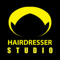 Hairdresser logo Royalty Free Stock Photo