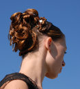 Hairstyle Royalty Free Stock Photo