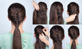 Hairstyle Ponytail With Twist ...
