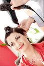Hairstyling Royalty Free Stock Images