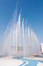 Haixinsha asian games park fountain in guangzhou china Royalty Free Stock Images