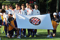 Hajduk young football team Royalty Free Stock Images