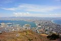 Hakodate japan beautiful view of Royalty Free Stock Photo