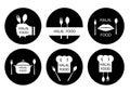 Halal food labels set. Badges, logo, tag round, and label design.