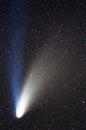 Hale Bopp Comet Royalty Free Stock Photo