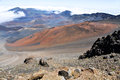 Haleakala Crater, Maui (Hawaii) Stock Photos