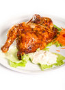 Half chicken Royalty Free Stock Photography