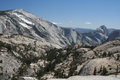 Half dome and cloud s rest yosemite np Royalty Free Stock Photography