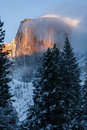 Half Dome at Sunset Royalty Free Stock Photos