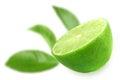 Half of fresh lime