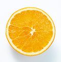 Half fresh orange Royalty Free Stock Image