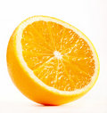 Half of A Fresh Orange Stock Image