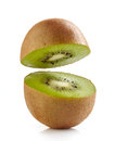 Half kiwi Royalty Free Stock Photos