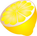 Half lemon Royalty Free Stock Photos