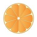 Half Orange 02 Royalty Free Stock Photo